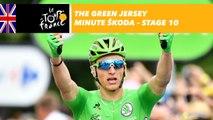 The ŠKODA green jersey minute - Stage 10 - Tour de France 2017