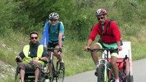 Hautes-Alpes : Les malades de la SLA à l'assaut du col d'Izoard