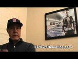 Joe Goossen Talks Mikey Garcia and Robert Garcia - EsNews Boxing