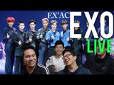 EXO | LUCKY ONE x MONSTER LIVE STAGE Reactions [4LadsReact]