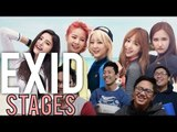 EXID | LIVE STAGE Reactions (L.I.E x Don't want a drive) [4LadsReact]