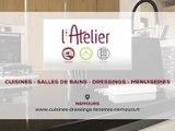 L'Atelier, cuisines, salles de bains, dressings et menuiseries extérieures à Nemours.