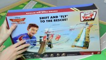 Disney Planes Fire and Rescue Toys Piston Peak Air Attack Track Set Dusty Windlifter Plane