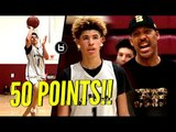 LaMelo Ball DROPS 50 POINTS & Pulls Out ALL The Tricks In CLUTCH Performance For Big Ballers!!
