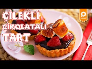 Çilekli Çikolatalı Tart - Onedio Yemek - Tatlı Tarifleri