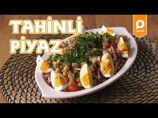 Tahinli Piyaz Tarifi - Onedio Yemek - Pratik Yemek Tarifleri