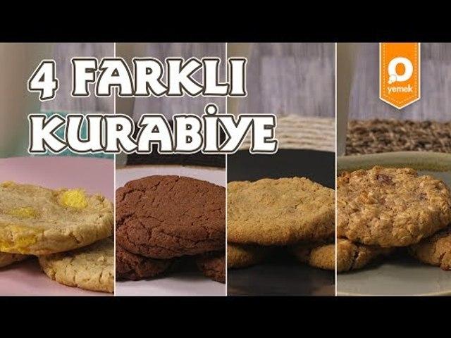 4 Farklı Kurabiye Tarifi - Onedio Yemek - Tek Malzeme Çok Tarif