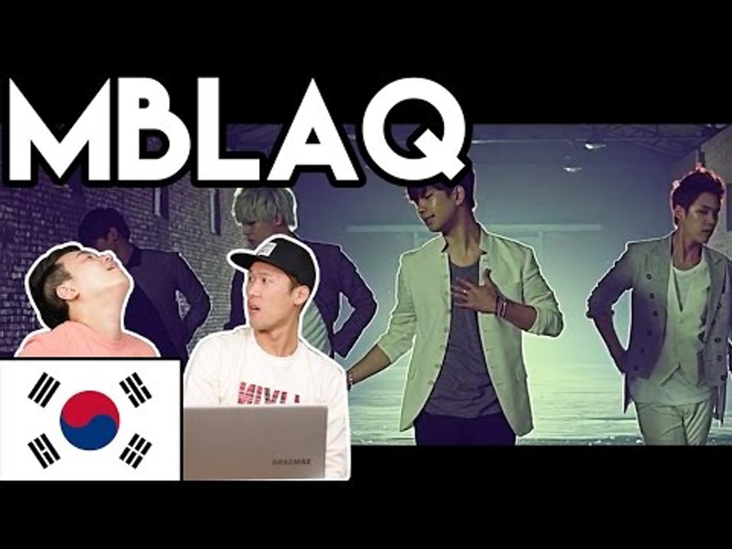 Korean Reaction - MBLAQ 거울 (MIRROR) M/V [JKTV]