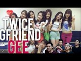[4LadsReact] TWICE x GFRIEND - GEE Live Stage Reaction