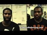 afolabi interviews smith and ennis - esnews boxing