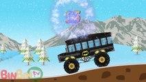 Des voitures dessin animé enfants les couleurs pour dans enfants monstre garderie homme araignée transport un camion w