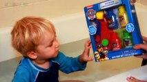 Para persecución núcleos de n / A patrulla pata Patrulla canina pintura dedo bañera juguetes marshall rubb