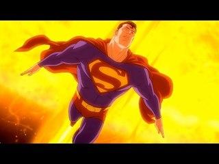 Superman : L'attaque du train postal - Dessin animé en français
