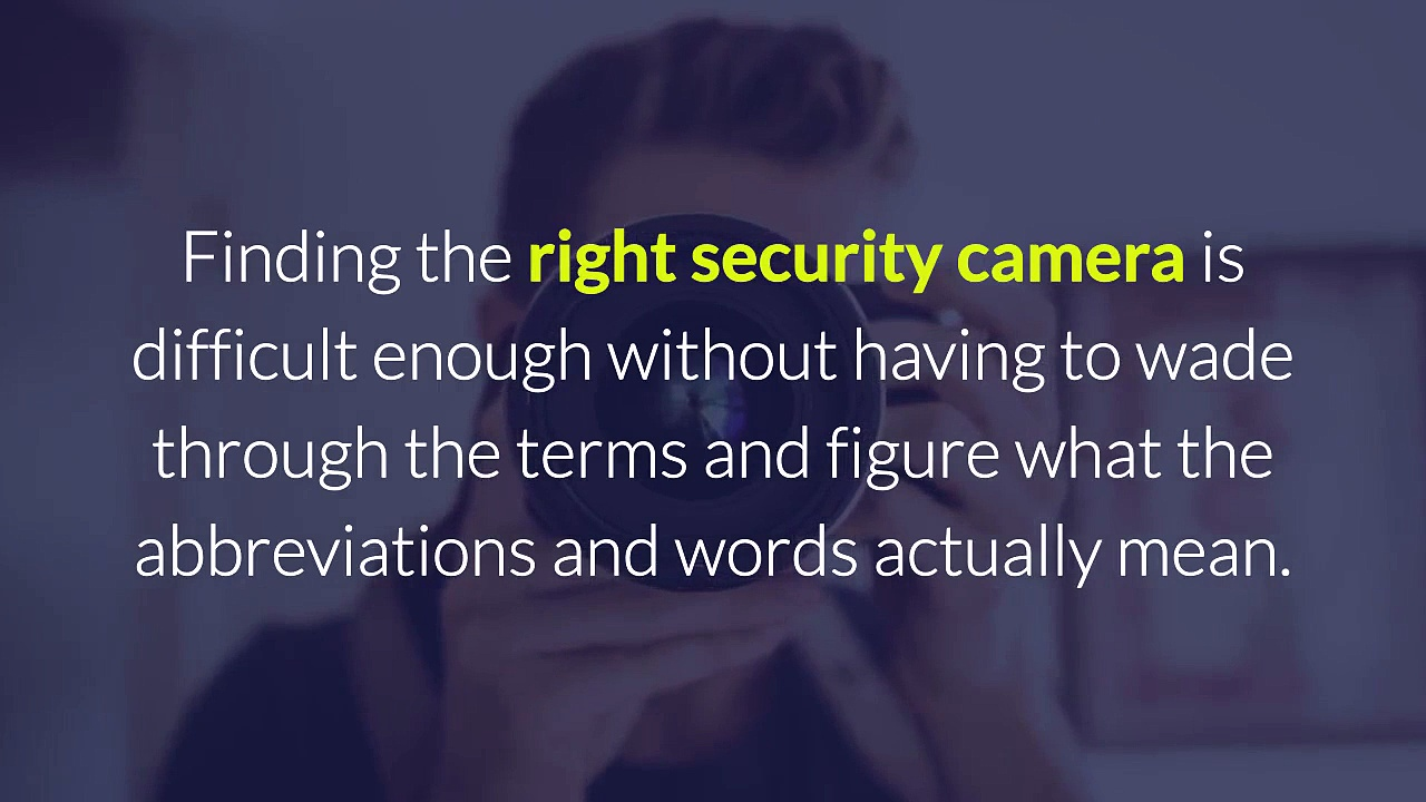 Defining the World of Security Cameras  Protectionbay.com