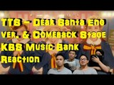 [4LadsReact] TTS 소녀시대-태티서_Dear Santa_Eng Ver & Comeback stage Reaction