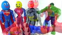 Les couleurs la famille doigt ponton enfant Apprendre garderie jouer rimes chanson homme araignée super-héros doh VVD