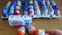 Chocolat escroquerie avec vidéos œufs Kinder Surprise Surprise oeufs oeuf