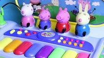 Против с с де де по из также друзья игрушка клавиатура микрофон Пеппа Пеппа-х пианино этаж свинья с микрофон клавиатуры