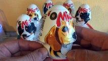 Collecte des œufs ferme drôle à Il jouets déballage 6 œufs surprise surprise