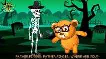 Gommeux ours contre squelette drôle épique pétant bataille doigt la famille garderie rimes drôle vidéo