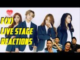 [4LadsReact] f(x) - Diamond + 4Walls Comeback stage Reactions