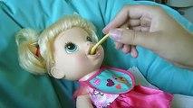 Vivo bebé por pañal muñeca come nunca comida más grosera ha mierda caca disneycartoys lucy