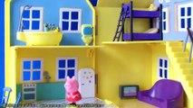 La Casa de Peppa Pig Peppa Pig House Deluxe Bandai Peppa Pig Juguetes