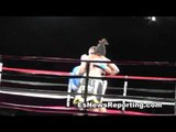 Video Charles Martin TKO vs Perro - esnews boxing
