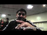 angel garcia if amir khan becomes the best then he'll fight danny  - esnews boxing