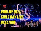 [4LadsReact] Girl's Day (걸스데이) - Ring My Bell (링마벨) Live comeback stage reaction