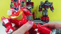 Transformers Optimus Prime Hero Mashers Ultimate Electronic Optimus w/ Rodimus and Heatwav