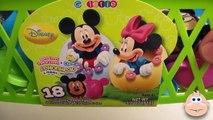 Et panier Bonbons Oeuf des œufs rempli amusement amusement ouverture Princesse jouets avec Disney surprise