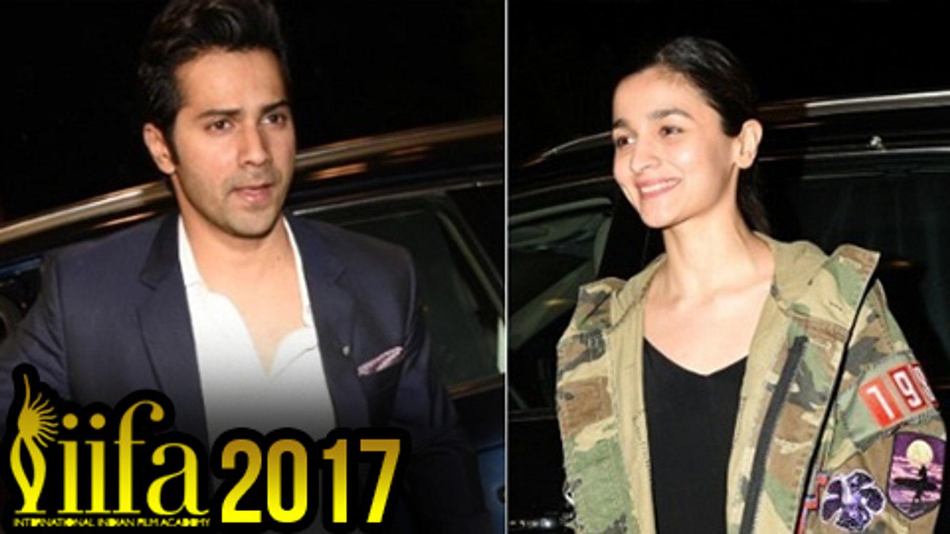 IIFA 2017  Varun Dhawan And Alia Bhatt Departs To New York