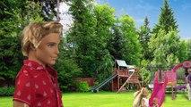 Et docteur poupées cheval dans parc sauve jumeaux Barbie annabel chelsea accident barbie-arzt