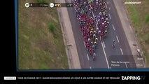 Tour de France 2017 : Nacer Bouhanni pénalisé pour avoir poussé un coureur Quick-Step (vidéo)