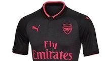 La tercera camiseta del Arsenal 2017-2018