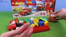 Et des voitures classique mouvement course course Ensemble arrêter jouets Lego animation mcqueen mater duplo disney カ ー ズ