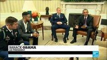 Barack Obama thanks Thalys train attack heroes the very best of America
