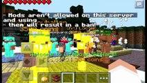 Bataille construire et et serveur serveur Minecraft pe 0.11.1 novo de minigames bedwars skywars mais