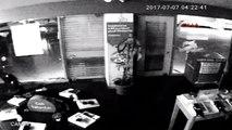 Adana Taşla Camı Kırıp, 20 Saniyede 6 Cep Telefonu Çaldılar