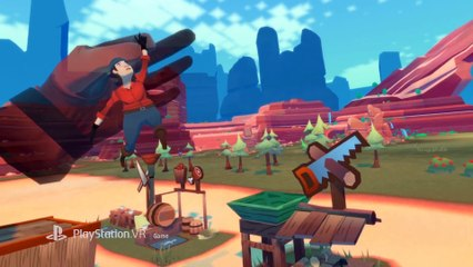 Dino Frontier - Gameplay Trailer PSVR