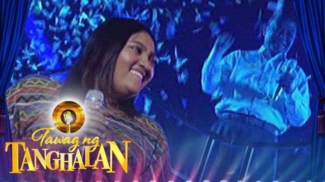 Tawag ng Tanghalan: Nabela Gudito gets the golden microphone!