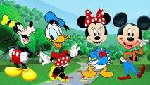 La famille doigt amusement amusement têtes de souris garderie rimes vidéo mal Disney mickey clubhouse animation