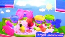 Panier Nouveau pique-nique porc jouer doh jeu Peppa Peppa Pâte à modeler porca