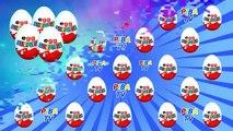 Des œufs Dans le jouets 36 киндер cюрпризов,unboxing kinder surprise winx club по мультику феи клуб