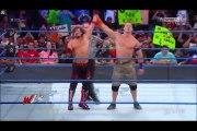John Cena & AJ Styles vs Kevin Owens & Rusev SmackDown LIVE, July 11, 2017