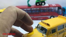 School Buses Toys For Kids ☜♥☞ Wheels On The Bus Song With Toys Bus ☜♥☞ Toys Buses For Kid