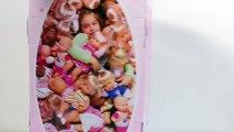 Bébé poupée haute chaise bébé poupée le déjeuner jouet Coupe aliments pâte à modeler aliments jouet vidéos