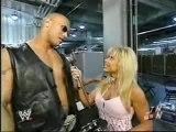 "The Rock Gets Interviewed Before ""The Rock Concert II"""