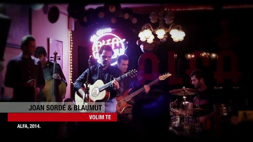 Joan Sordé y Blaumut - Volim Te - Alfa Bar (con Oriol Aymat, Vassil Lambrinov y Manel Pedrós)